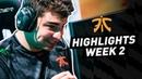 Fnatic Highlights | LEC Summer Split Week 2 (Origen/Schalke 04)