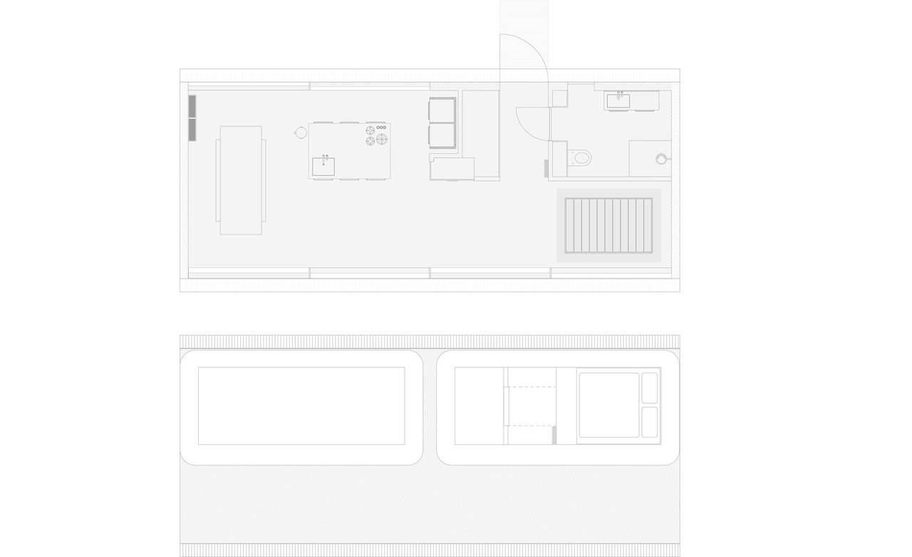 """lF9eePObU2w - Vipp prefabricated cabins designed as """"battery-charging stations for humans"""""""