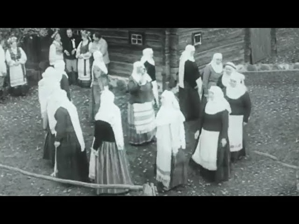 Čiutyta rūtala (Lithuanian wedding dance song   Vestuvinė daina ir šokis)