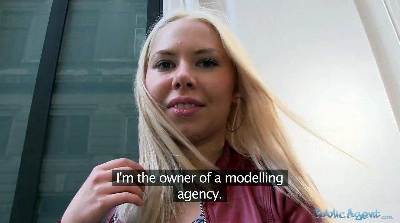 PublicAgent Diana Dali E296 Русскую блондинку трахают в Чехии