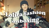 Lolita fashion unboxing accessories, shoes, novelties and more! Evil Sasha