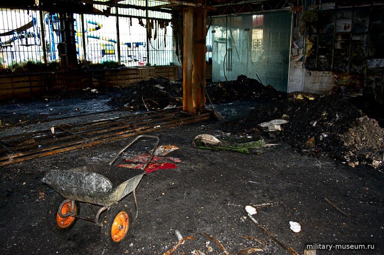 В Таганроге продолжается сбор средств в помощь сгоревшему дотла военно-историческому музею