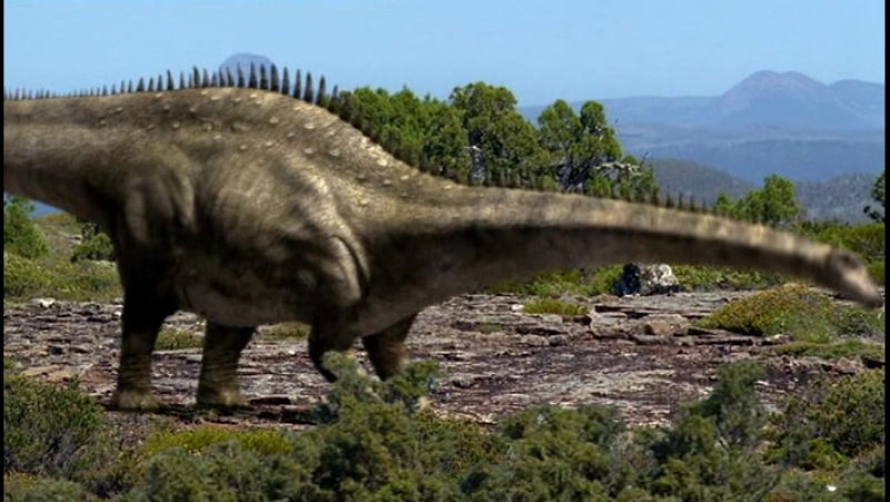BBC Прогулки с Динозаврами - Эпоха Титанов (BBC Walking with Dinosaurs - Time of the Titans)(1999)