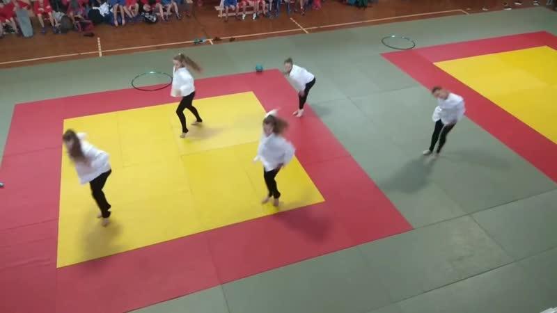 Художественная гимнастика Показательное выступление 2018