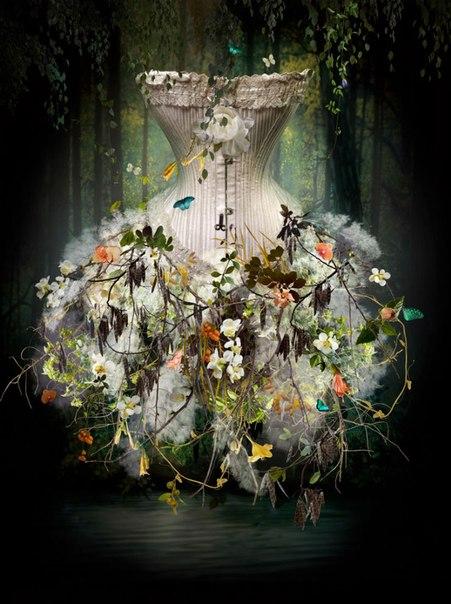 Царство Флоры в искусстве Изабел ЛеМэй