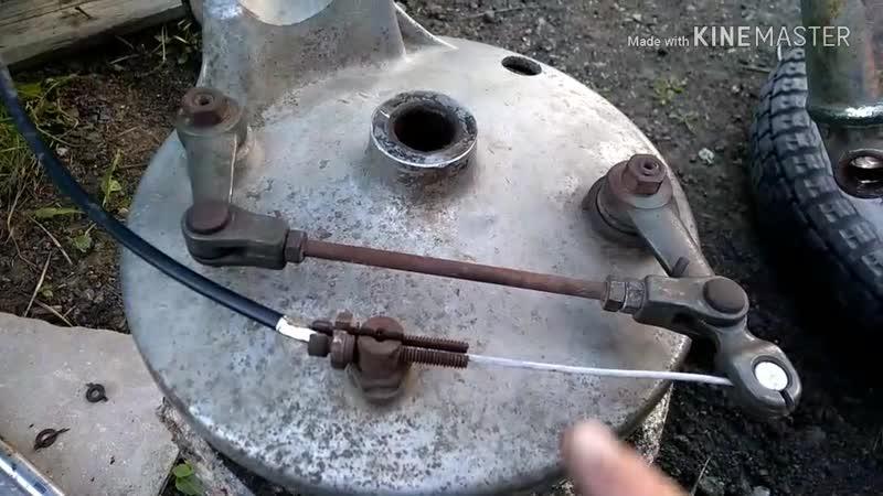 Ура Нашёл ИКС 1 Заодно купил и стробоскоп Подробнее о регулировке переднего тормоза Урала