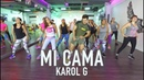 Mi Cama - Karol G by Cesar James Zumba Cardio Extremo Cancun