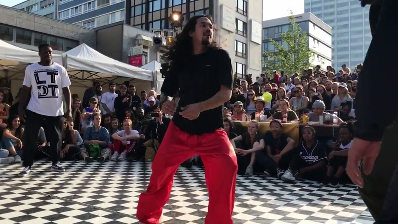 The Smash Up 2018   House Semifinale    Pjay Danny Son vs Matin Oulouy   Danceproject.info