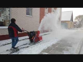 Приставка снегоуборочная к мотоблоку