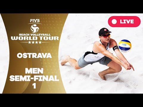 Ostrava 4-Star - 2018 FIVB Beach Volleyball World Tour - Men Semi Final 1