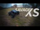 HPI Savage XS Flux demonstration of strength демонстрация прочности
