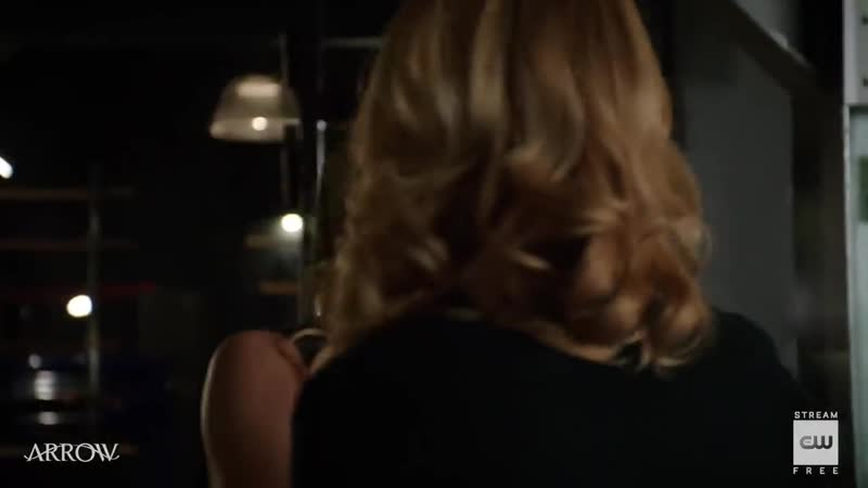 Arrow - Lost Canary Scene - The CW
