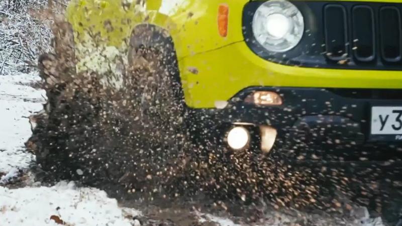 Трейлер: Тест-драйв и обзор Jeep Renegade Trailhawk | Эксклюзив 4x4PRO