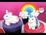 Unicorn Cupcakes! Make Unicorns &amp Rainbows for Cakes &amp Cupcakes -A Cupcake Addiction How To Tutorial