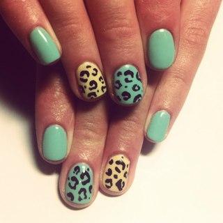 Шеллак на короткие ногти дизайн