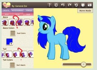 Игра пони креатор 3 полная версия с новой прической