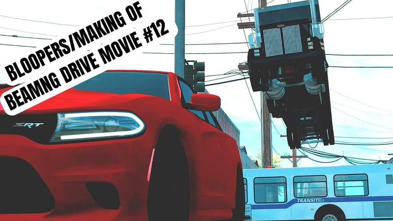 Beamng Drive Bloopers/Making Of Movie: Crazy City Police Chase (Sound Effects)