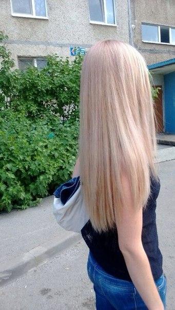 Окрашивание блонд в домашних условиях
