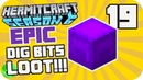 EPIC Dig Bits Loot! - HermitCraft Season 6 (Multiplayer Minecraft 1.13 SMP) 19