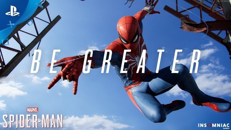 Marvel's Spider-Man – Be Greater Trailer | PS 4