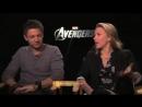 Scarlett Johannson Jeremy Renner interview by Monsieur Hollywood The Avengers