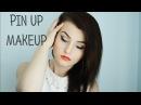Pin up makeup tutorial Соблазнительные стрелки и красные губы Old style