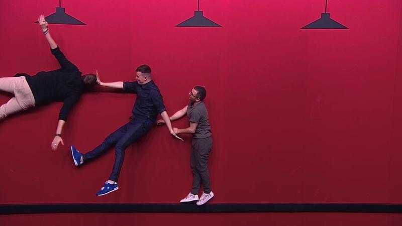 Импровизация «Красная комната» Девушка пришла на курсы самообороны. 4 сезон, 12 серия (89)