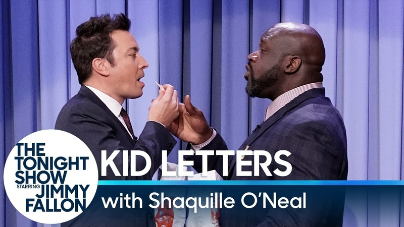 Kid Letters with Shaquille ONeal