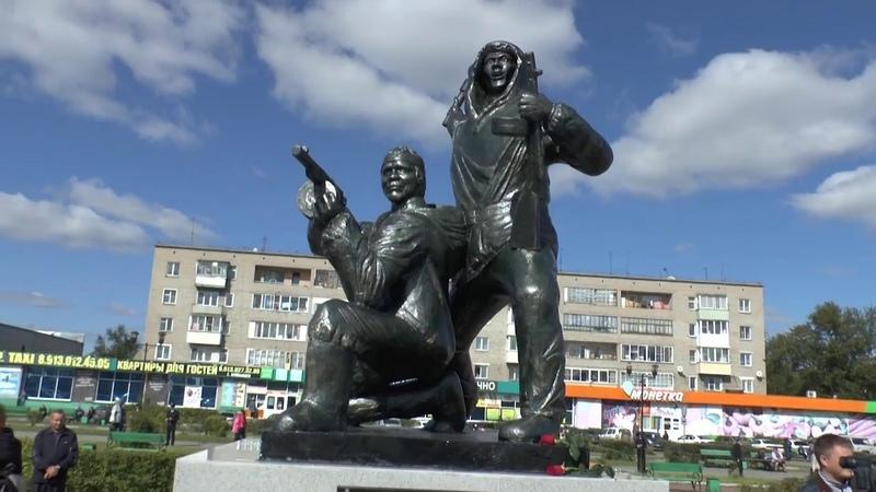 Открытие памятника в Барабинске