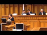 Раиса Набиева на молодежном Парламенте Московской области