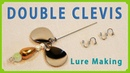 How to make a DOUBLE CLEVIS for Lure ルアー用ダブルクレビスの作り方