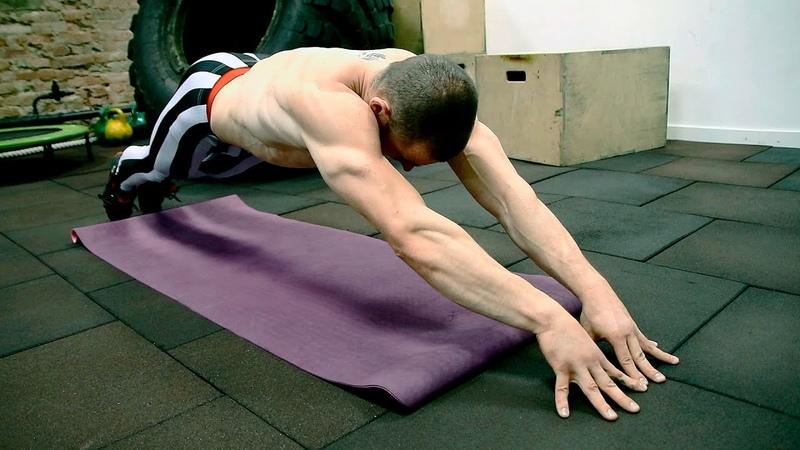 Три упражнения которые прокачают ваш пресс от Виктора Блуда