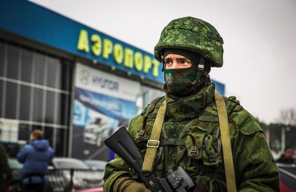 التصعيد العسكري الروسي بشبه جزيرة القرم الأوكرانية  AeFLjMQHGhc