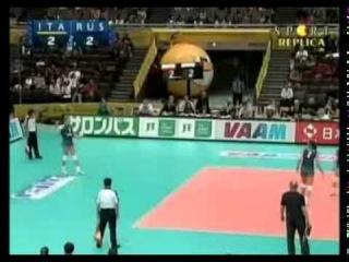 Чемпионат мира по волейболу 2006, Япония, полуфинал, Россия-Италия, 3-0, 1 место, Гамова Екатерина