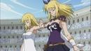 Люси против Флер Короны (Искры). [Fairy Tail]