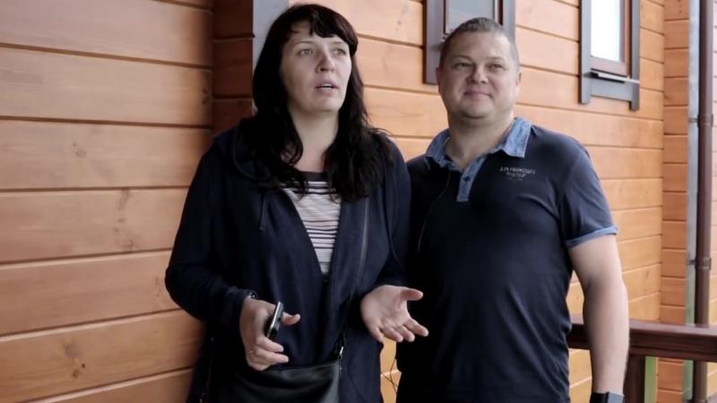 Отзыв семьи Азаровых. Серпухов, Московская область. Индивидуальный проект дома.