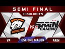 VP vs paiN Semi Final ESL One Birmingham Major 2018 Highlights Dota 2