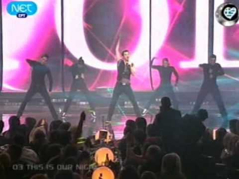 Eurovision 2009 Greece - Sakis Rouvas- This is our night - LIVE - HQSTEREO
