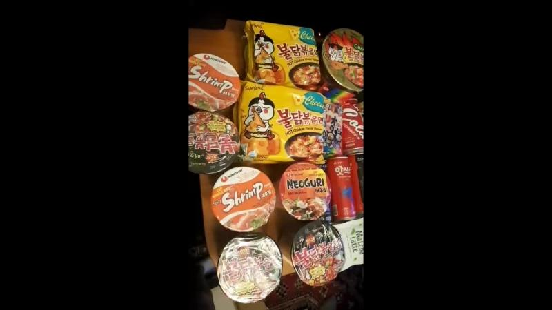 новые вкусняшек из Японии и Кореии!
