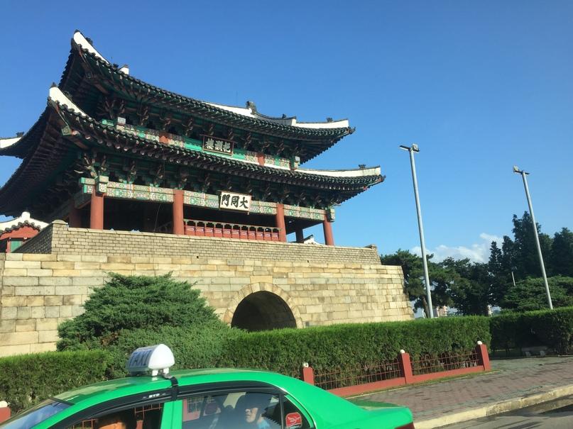 Отчет о путешествии в Северную Корею Древние ворота