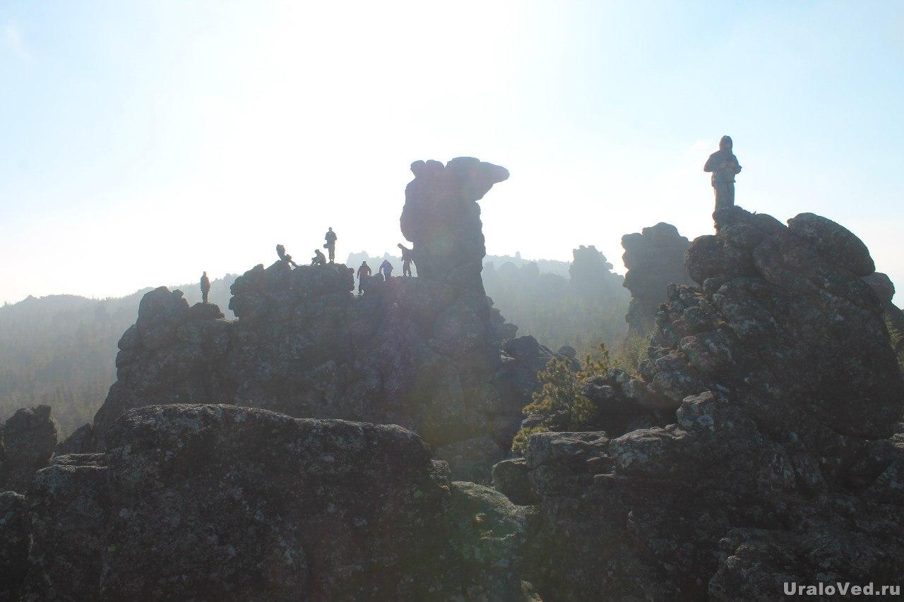 Скала Верблюд на горе Качканар