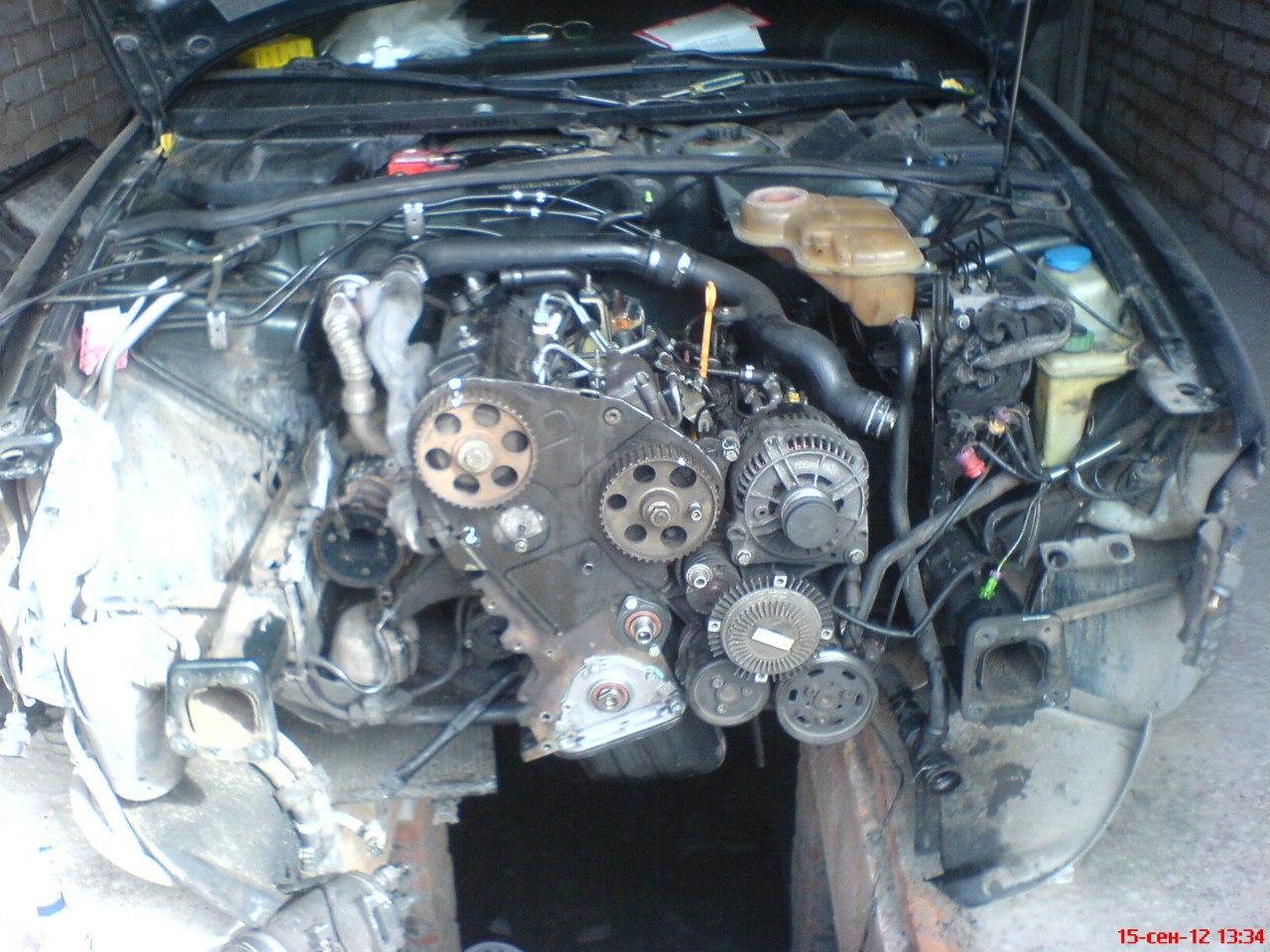 схема двигателя пассат в5