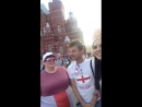 British fans in Moscow FIFA WC18