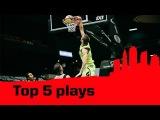 Top 5 Plays - 2014 FIBA 3x3 World Tour Final