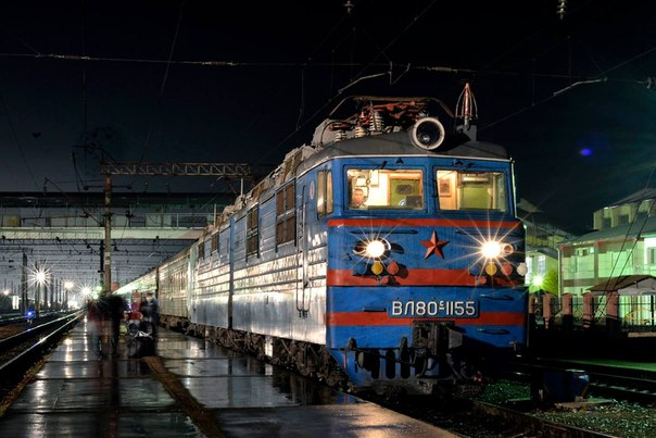 ВЛ80С-1155 ТЧЭ-14 КТЖ