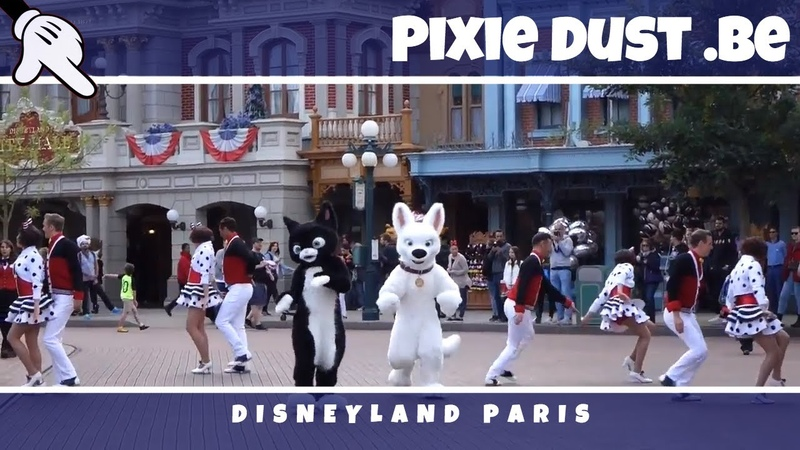 Tuesday GUEST STAR DAY with Mittens Bolt at Disneyland Paris