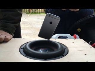 "iPhone против САБВУФЕРА URAL Patriot 8"""