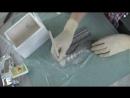 Переделка!! как задекорировать старый короб для цветов