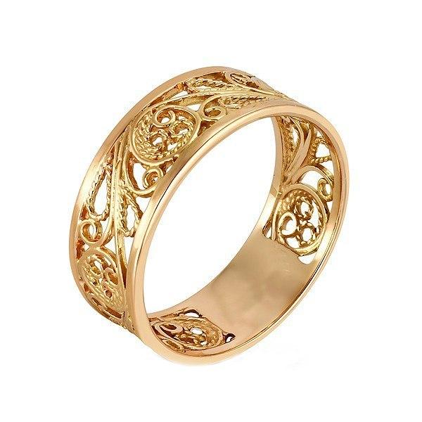 Золотые кольца фото без камней
