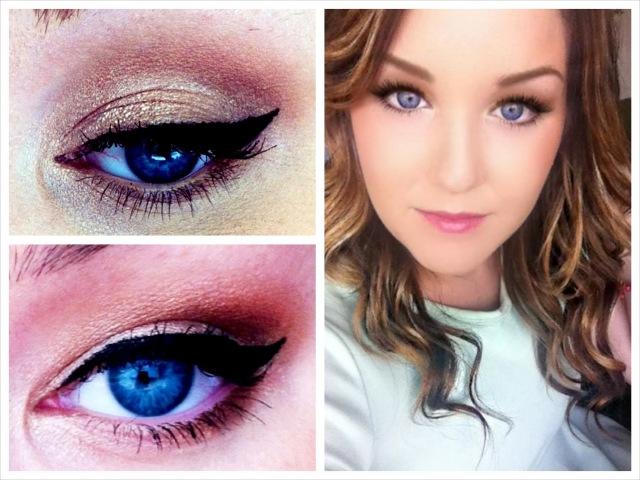 К голубым глазам какой макияж подходит для